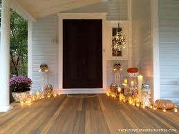 Our Victorian Front Porch Decorated For Halloween Diy Chandelier Throughout Brilliant As Well Stunning With Regard To Residence