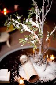 Rustic Winter Wedding Decorations