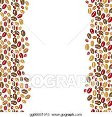 The Coffee Beans Vertical Border