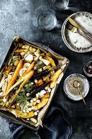 karamellisiertes ofengemüse mit sesam dill s küche