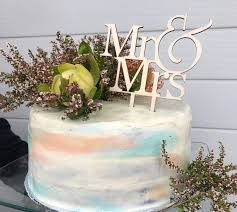 Mr Mrs Wood Cake Topper Rustic TopperWood TopperWedding