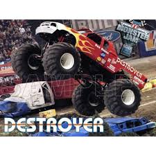 100 Destroyer Monster Truck Personalized Iron On Transfers T Shirt Iron