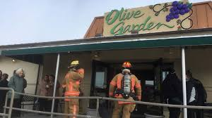 WMFD Olive Garden In tario Evacuated Following Vestibule Fire