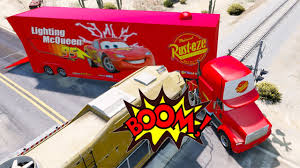 Mack Truck Hauler In Trouble W Train - Disney Cars Lightning McQueen ... Color Changers Disney Cars Lovely Mack Truck Hauler Car Wash Playset 2 Carrying Case Rust E Ze Lightning Mcqueen Pixar Mcqueen Colors Transportation W Walmartcom Jada Diecast Metal 124 With 3 Carry Mattel Vehicle Game Set No958643 Cars Toys Toys Kids Video Store 30 Diecasts Woody