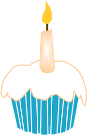 Pice clipart birthday cupcake 12