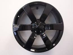100 Chevy Truck Center Caps 22 Silverado 1500 Tahoe Wheels Tires Gloss Black Set Of 4