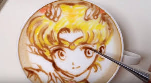Japanese Latte Artist Recreates Popular Anime Characters
