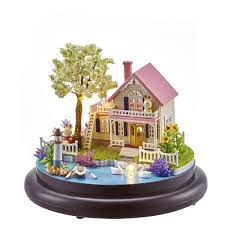China Amusement Kids Play Area Doll House Furniture HBwwj1