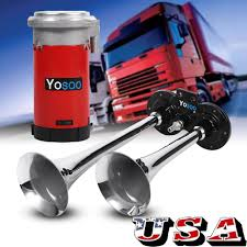 Details About UNIVERSAL LOUD 150DB 2/DUAL TRUMPET ELECTRIC TRAIN HORN  CHROME TRUCK/MARINE 12V Train Horn Wikipedia Buy Horn For Truck 150 Db 12v Air Solenoid In Cheap 12 And 24 Volt 4 Trumpet Air Loudest Kleinn 159db Quick Sample Of A Actual Train Horn On Fire Truck Somewhere In The United States America Best Train Horns Cars Amazoncom Finally Working On Dodge Diesel Kleinn Hk1 Dual Kit Kits One Big Cummins Complete With Dual Stacks 22in Wheels 1006 16 3horn 150psi Compressor 3gal Tank All Hdware Shown Horns Abs 220