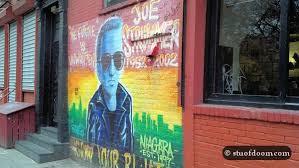 Joe Strummer Mural New York City by The Wanderer Blog Archive East Village Rock N U0027 Roll Tour