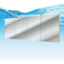 spiegelschrank badspiegel badezimmer spiegel city 160cm braun eiche 15651 ohne spiegelschrankbeleuchtung