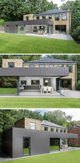 100 Contemporary Houses 14 Examples Of British With Extensions