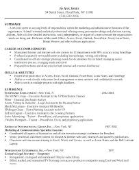 Samples Of Administrative Assistant Resumes Resume