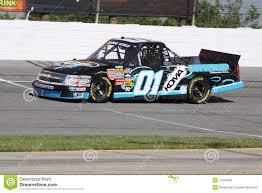 100 Nascar Truck Race Results Joe Aramendia 01 Qualifying NASCAR Series Editorial Image