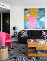 100 Pop Art Interior Geometric Patterns And Andy Warhol Meet In This Eclectic