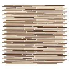 american olean mosaic tile shop american olean linear mosaic glass wall tile common