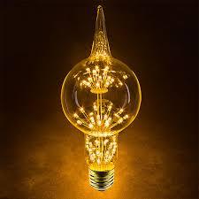 led fireworks bulb g80 decorative light bulb 10 watt