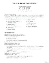 Telemarketing Resume Samples Medium To Large Size Of Templates Manager Example