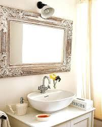 Ikea Hemnes Bathroom Mirror Cabinet by W Wall Mirror In Warm Cinnamonwood Framed Bathroom Mirrors Uk Diy