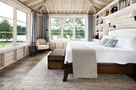 BedroomNice Country Master Bedrooms Decor Ideas With White Bedding Sets On Wooden Bed Frame