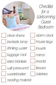 Checklist For A Welcoming Guest Room Should Include Airtek Goo