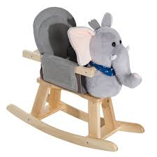 HOMCOM Childrens Plush Rocking Horse W/Sound-Brown – Ideal ... Charles Eames Rocking Chair Elephant Grey At 1stdibs Kristalia Rocking Chair Whiteoak L Ozkezlabxrf3lvr6gqyw Solid Wooden Rocker Leather By Stylepark 1st Generation Elephant Hide Grey Rope Edge Armchair Buy Animal Adventure Circus Online Teamson Kids Safari Chairs Play Mamas Papas Ellery Vidaxl Baby Bouncers Rockers