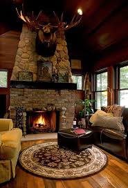 Simple Log Home Great Rooms Ideas Photo by 253 Best Cabin Interiors Decor Images On