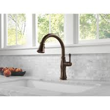 Delta Trinsic Kitchen Faucet Champagne Bronze by Rb Dst View41 Lg Faucet Delta Ar Cassidy Arctic Stainless Pullout