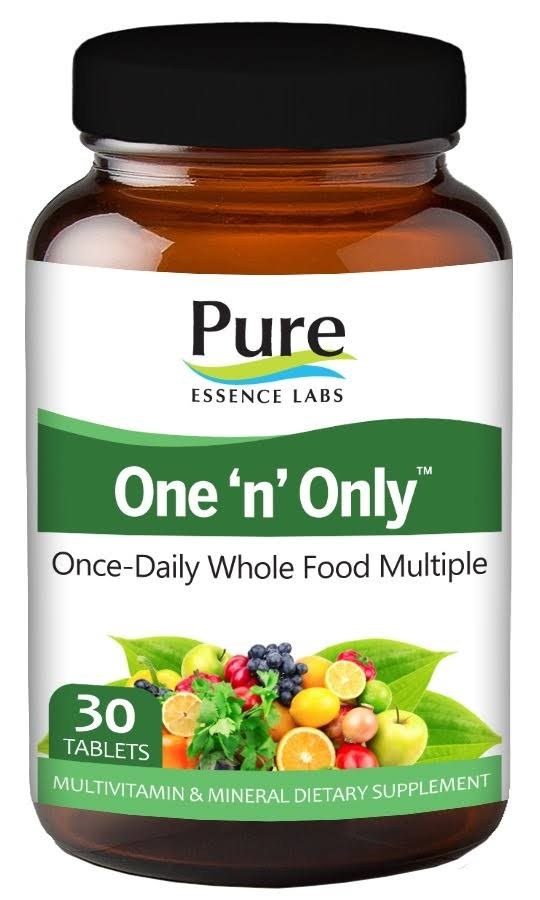 Pure Essence Labs One 'n' Only Multivitamin & Mineral Dietary Supplement - 30 Tablets