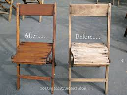 Stakmore Folding Chairs Vintage by Best 25 Wooden Folding Chairs Ideas On Pinterest Folding Chairs