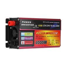 100 Truck Power Inverter 1200w Power Inverter 4860v To 220v Converter For Solar System Truck