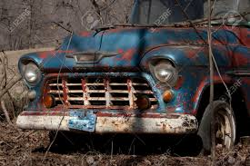 100 Old Chevy Truck An Sitting Abandoned Stock Photo Picture And
