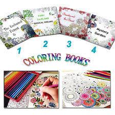 Children English Adult Graffiti Secret Garden Coloring Book Drawing Youngs