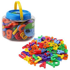 Amazon ABC Magnets 109 Magnetic Alphabet Letters & Numbers