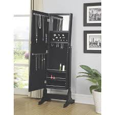 Amazon.com: Coaster Home Furnishings 970047 Casual Jewelry Armoire ... Tips Large Jewelry Boxes Armoires Walmart Armoire Innovation Luxury White For Inspiring Nice Jewelry Armoire Over The Door Abolishrmcom Mirrors Cheval Mirror Floor Standing Blackcrowus Top Black Options Reviews World Powell Mirrored Box All Home Ideas And Decor Best Standing Mirror