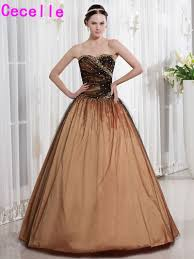 popular brown prom gowns buy cheap brown prom gowns lots from