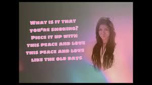 bed peace lyrics jhene aiko ft childish gambino youtube