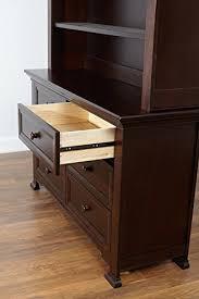 Munire Dresser With Hutch by Amazon Com Centennial Medford Hutch Espresso Nursery Armoires