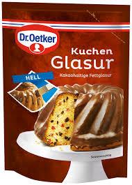 dr oetker kuchen glasur vollmilch milk chocolate