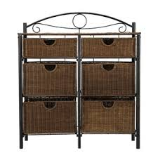 Six Drawer Storage Cabinet by Basket Storage Cabinets U0026 Chests You U0027ll Love Wayfair