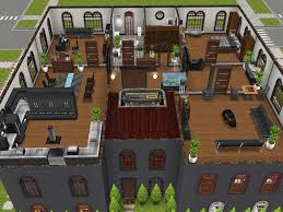Sims Freeplay Second Floor Stairs by Three Story Apartments Level 3 Penthouse Thesims Simsfreeplay