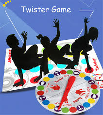 2017 Funny Twister Game Board That Ties You Up In Knots For Family Friend Party