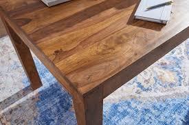 esstisch mumbai massivholz sheesham 120 cm esszimmer tisch holztisch design küchentisch landhaus stil dunkel braun