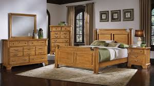 Oak Bedroom Furniture Sets To Get Dramatically Natural Design