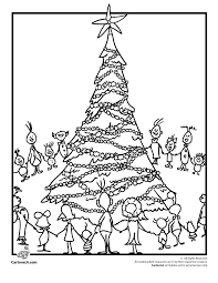 The Grinchs Whoville Coloring Page