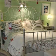 leirvik bed frame furniture affordable leirvik white meatl bed frame ikea for