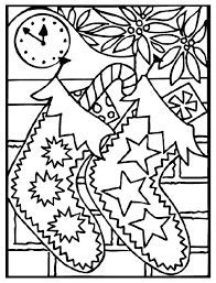 Free Online Christmas Coloring Pages Printable Tree Ornaments Draw
