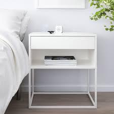 vikhammer nightstand white ikea in 2020 ablagetisch