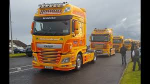 100 Cooley Commercial Trucks Ireland Convoy To 2016 Full HD 17 Minutes YouTube