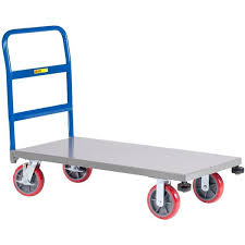 Platform Truck With Corner Bumpers NCB-3048-8PYBK | Bizchair.com Con 5875 Coinental One Handle Platform Truck 700 Lb Capacity Vestil Atp C Alinum Trucks For Sale Rubbermaid Commercial Products 24 In X 48 Heavy Duty 1000 Mesh 250kg With Fast Free Uk Delivery Ese Tubular Steel Sided Hand Drawn Cheap Sealey Cst981 Folding Alinium 150kg From Krane Amg500 Convertible Truckplatform Cart Bh Warehouse Rack And Shelf Fg440600bla 36 2000 Shop Costway 660lbs Dolly Push